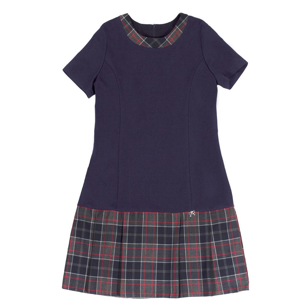 СМ 17-43 Платье складка