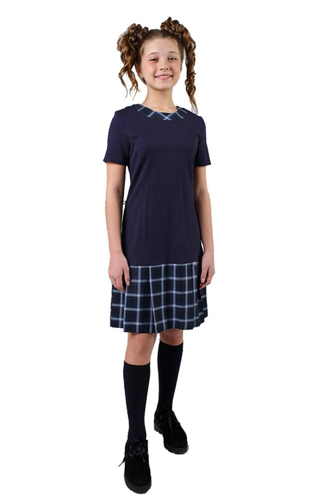 СМ 17-44 Платье складка